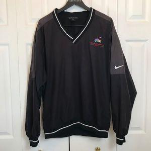 Nike Michael Jordon Black Golf Pullover Mens sz M